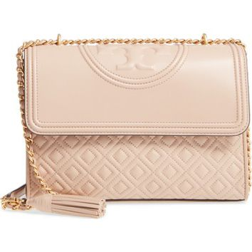 Tory Burch Fleming Leather Convertible Shoulder Bag | Nordstrom