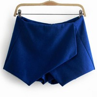 OL Irregular Leisure Woolen Joint Shorts,Cheap in Wendybox.com