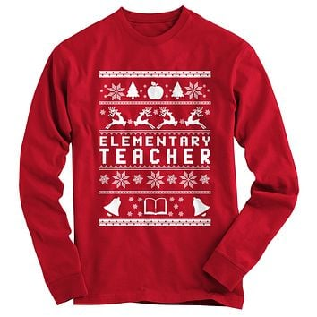Elementary Teacher Ugly Christmas Sweater