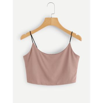 Crop Cami Top PASTEL