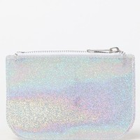 LA Hearts Glitter Coin Purse at PacSun.com