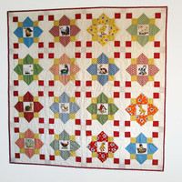 Child's I-Spy Quilt, Child Bedding