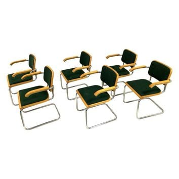 Pre-owned Vintage Thonet Marcel Breuer Cesca Chairs - 6