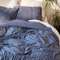 Cinched Jersey Duvet Cover | Urban Outfitters
