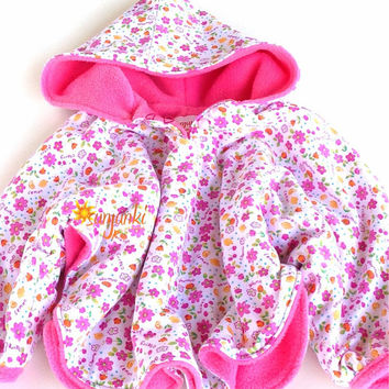 Girl Poncho Pullover, Child Hooded Pullover, Toddler Girls Hooded Sweatshirt Pullover, Child Fleece Jacket, Fleece Poncho, Hoodie Pullover