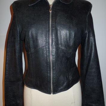 Black Leather Jacket (Wilsons Leather)