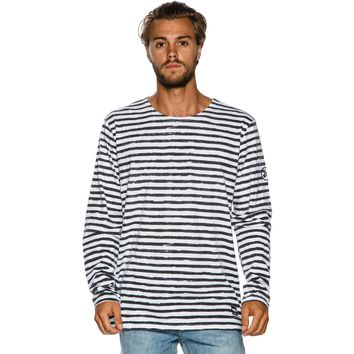 BILLABONG FACTORY LS CREW TEE