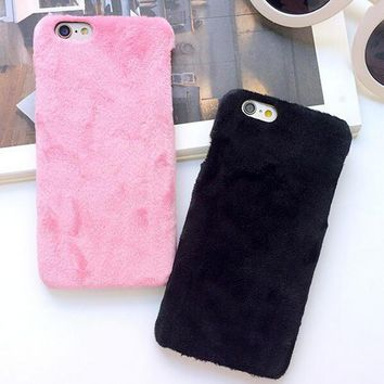 Fluffy Case Cover for iPhone