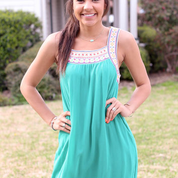 Panama Dress - Green