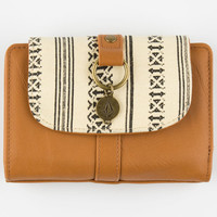 Volcom Hidden Agenda Wallet Cognac One Size For Women 24807740901