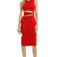 Cushnie Et Ochs Rev Your Engines Dress