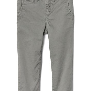 Solid stretch khakis | Gap