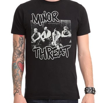 Minor Threat Group T-Shirt
