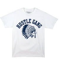 Tees - Graphic - Grand Hustle Gang Core Logo Tee - White Navy - DTLR -  Down Town Locker Room. Your Fashion, Your Lifestyle! Shop Sneakers, Boots, Basketball shoes and more from Nike, Jordan, Timberland and New Balance