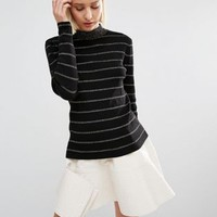 Weekday Stripe Knitted Sweater