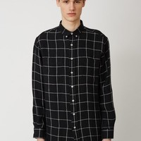 Ami Oversized Long-Sleeve Shirt - MEN - JUST IN - Ami - OPENING CEREMONY