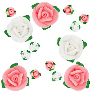 Rose Bud Icing Flower Assortment