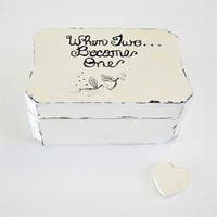 Ring Bearer Box / Wedding Ring Box / Engagement Ring Box