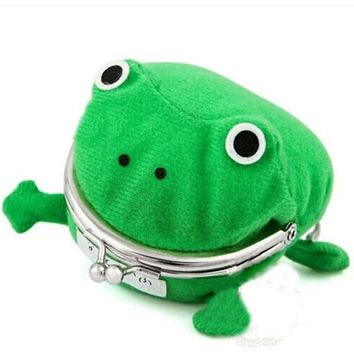 Naruto Sasauke ninja Pencil Case Frog Change Purse  Wallet Anime Corduroy Plush Collect Cute Purse Family Natal Daily Storage Keep Money Purse AT_81_8