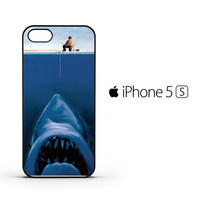 Funny Fishing Shark F0472 iPhone 5 | 5S Case