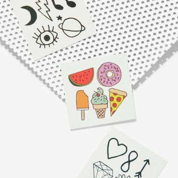 Where It's Tat Temporary Tattoo Set