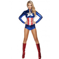 Roma Costume 4606 - 2pc All American Temptress Women's Costume
