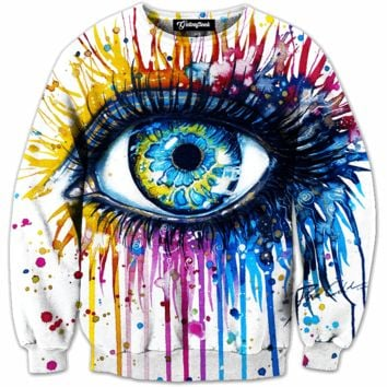 Painted Eye Crewneck