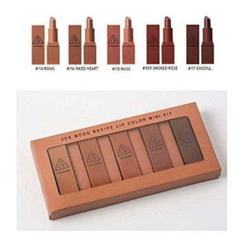 ONETOW 3CE Mood Recipe Lip Color Mini Kit (LIMITED QUANTITY)