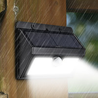 20 LED Solar Light Waterproof Outdoor LED Garden Light 2835 SMD PIR Motion Sensor Solar Power Wall Lamp Security Pathway Light