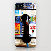 Retro Vintage Mexican Public Pay Phone iPhone 3gs, 3g, 4, 4s and iphone 5 case