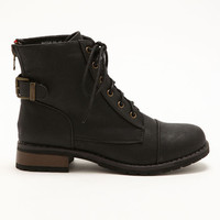 Back Buckle Boots