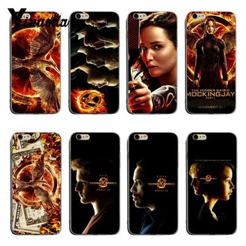 Yinuoda The Hunger Games Newest Super Cute Phone Cases For iPhone XSMax X XS XR 7 7Plus 8 8plus 6 6s 6plus
