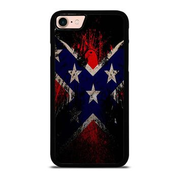 BROWNING REBEL FLAG iPhone 8 Case Cover