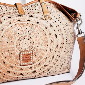 Free People Imperiali Distressed Tote