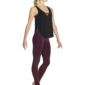 Lace Up Front Tank FT5111