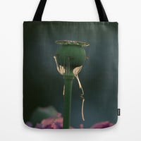 poppy capsules Tote Bag by Tanja Riedel