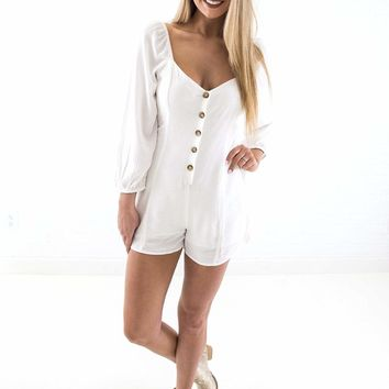 Women's Amuse Society Liliana Romper