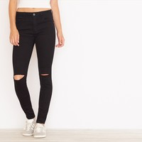 Black High Waist Jegging