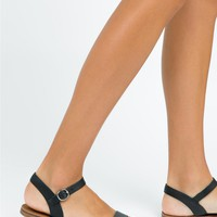 Windsor Smith Black Keira Sandals