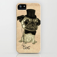 Pug (gentle pug). iPhone & iPod Case by Barruf