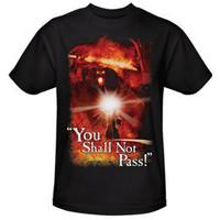 The Lord of the Rings EXCLUSIVE You Shall Not Pass! Adult T-Shirt: WBshop.com