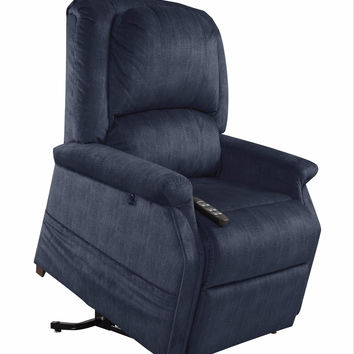 Mega Motion Infinite Position, Zero-Gravity Reclining Lift Chair NM-3001 Full Lay Out