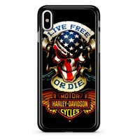 Logo Harley Davidson 7f iPhone X Case