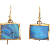 Judy Geib Opal Rectangular Drop Earrings at Barneys.com