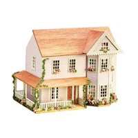 Dollhouse Miniature 1/144 Scale Victorian Bay Kit