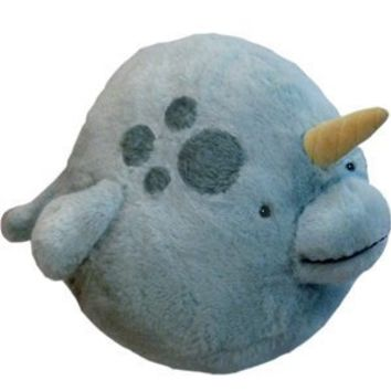 Squishable Narwhal Plush - 15 inch