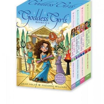Goddess Girls: Athena the Brave / Persephone the Phony / Aphrodite the Beauty / Artemis the Brave (Goddess Girls)
