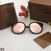 GUCCI 2018 new retro polarized trend female color film sunglasses #3