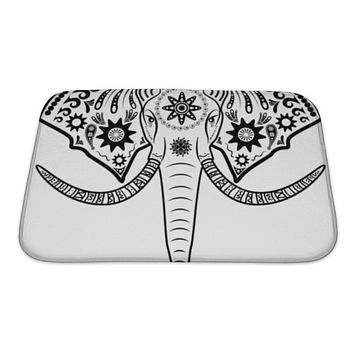 Bath Mat, Elephant Head
