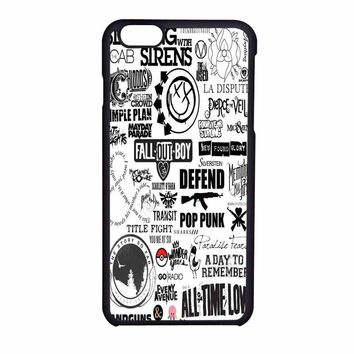 Fall Out Boy All Time Low Pierce The Veil Band And Bands iPhone 6 Case